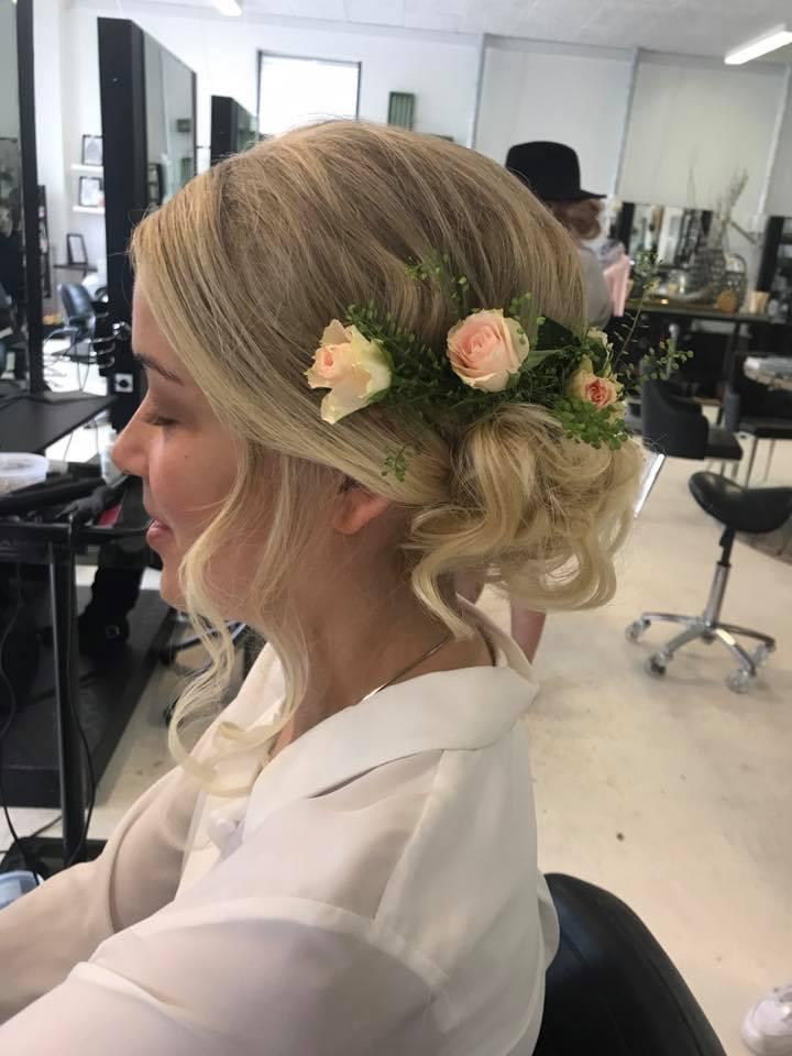 bryllupsopsætning hår