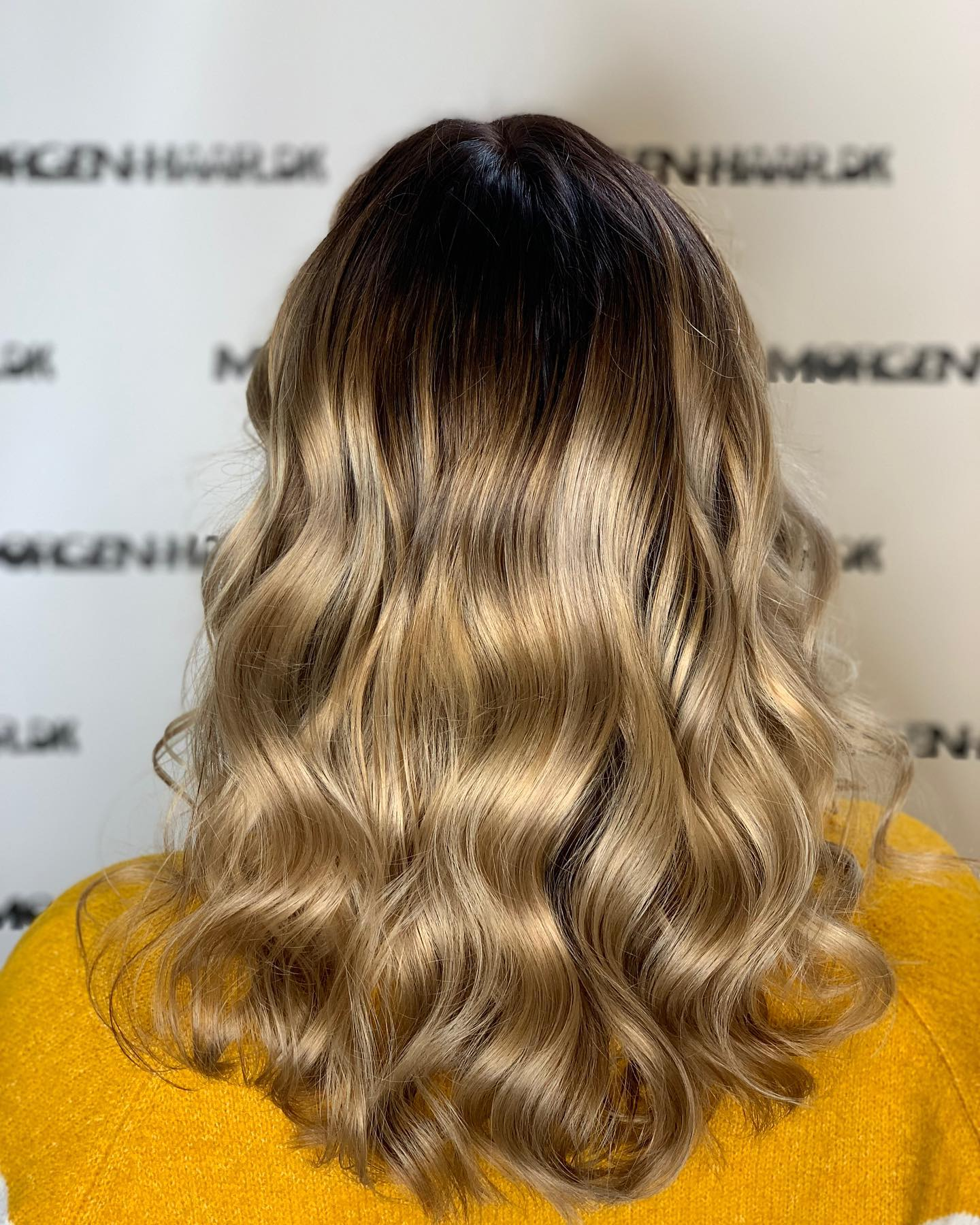 hårfarve blond
